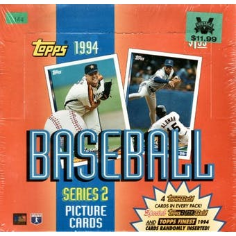 1994 Topps Series 2 Baseball Jumbo Box