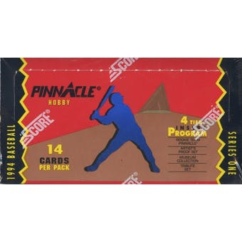 1994 Pinnacle Series 1 Baseball 4 Tier Hobby Box