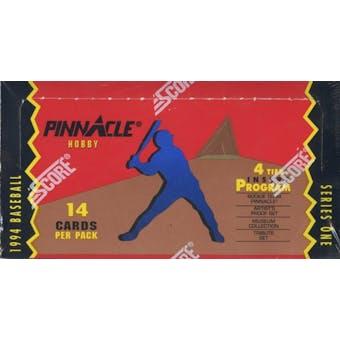 1994 Pinnacle Series 1 Baseball 4 Tier Hobby Box