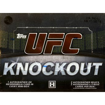 2010 Topps UFC Knockout Hobby Box