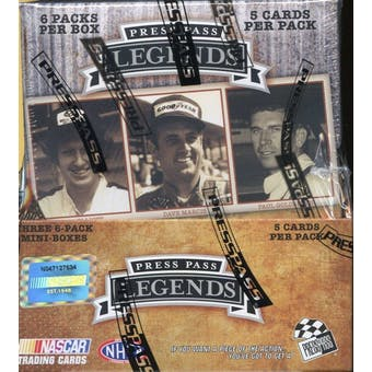 2010 Press Pass Legends Racing Hobby Box