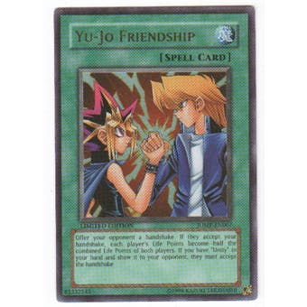 Yu-Gi-Oh Promo Single Yu-Jo Friendship Ultra Rare (JUMP-EN007) - SLIGHT PLAY (SP)