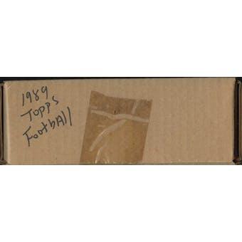 1989 Topps Football Factory Set (Brown Box)