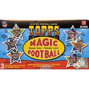 2010 Topps Magic Football Hobby Box