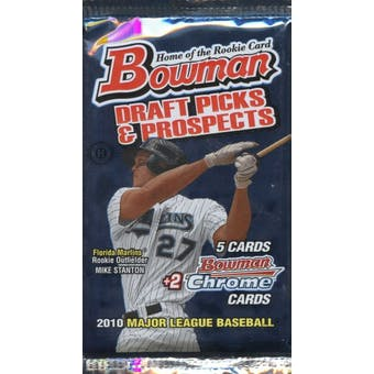 2010 Bowman Draft Picks & Prospects Baseball Hobby Pack