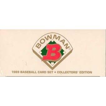 1989 Bowman Tiffany Baseball Factory Set
