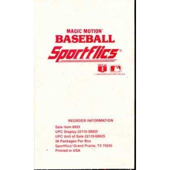 1989 Sportflics Baseball Wax Box