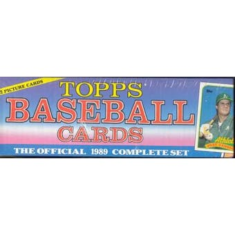 1989 Topps Baseball Factory Set (Christmas)