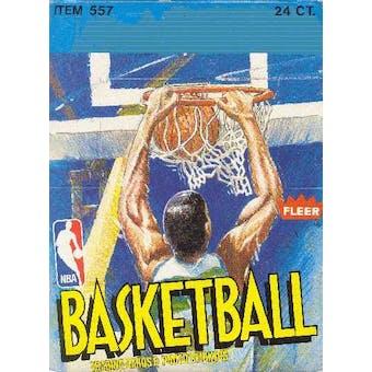 1989/90 Fleer Basketball Rack Box