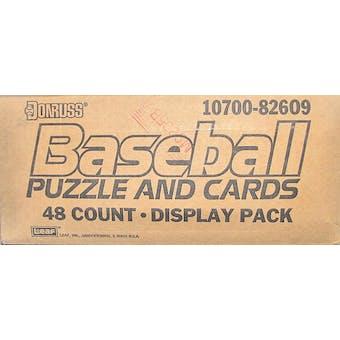 1989 Donruss Baseball Blister Case