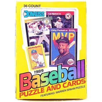 1989 Donruss Canadian Baseball Wax Box