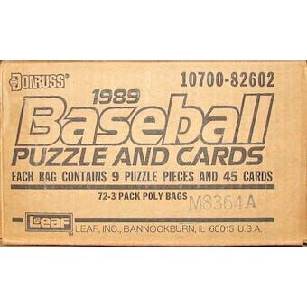 1989 Donruss Baseball Rack Case