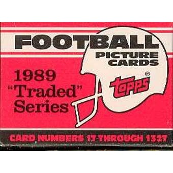 1989 Topps Traded Football Factory Set