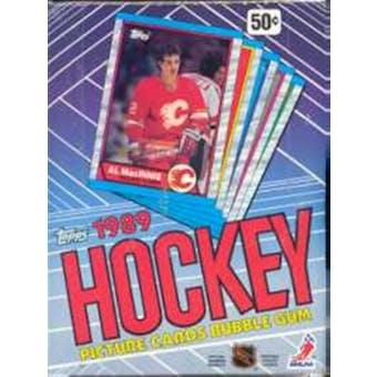 1989/90 Topps Hockey Wax Box