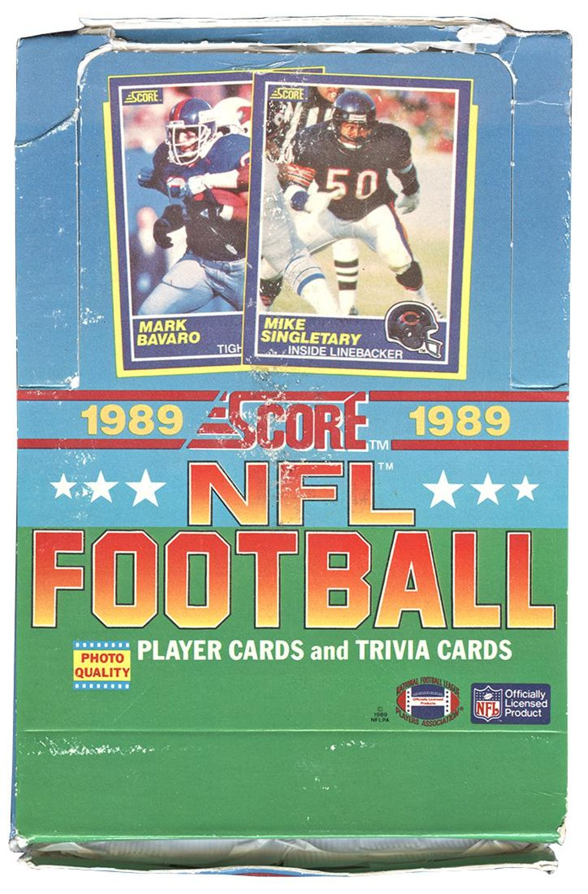 1989 Score Football Wax Box Da Card World