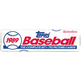 1989 Topps Baseball Factory Set (white box)