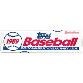 1989 Topps Baseball Factory Set (white box)
