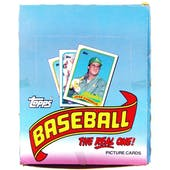1989 Topps Baseball Rack Box (Reed Buy)