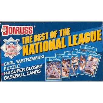 1990 Donruss Best of the National League Baseball Factory Set