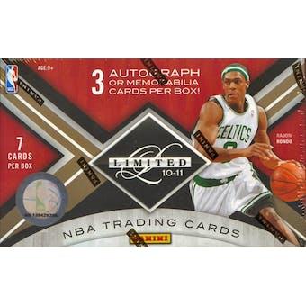 2010/11 Panini Limited Basketball Hobby Box
