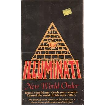 Steve Jackson Games - Illuminati New World Order 1st Edition Booster Box