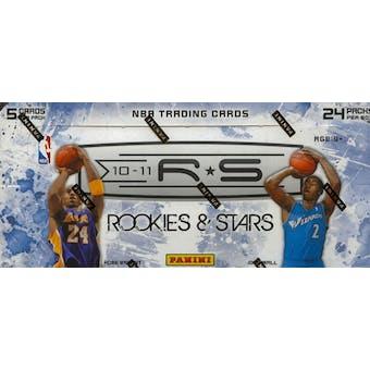 2010/11 Panini Rookies & Stars Basketball Hobby Box