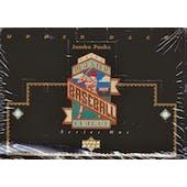 1993 Upper Deck Series 1 Baseball Jumbo Box (Reed Buy)