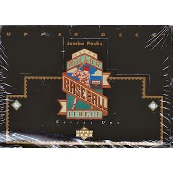 1993 Upper Deck Series 1 Baseball Jumbo Box