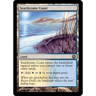 Magic the Gathering Scars of Mirrodin Single Seachrome Coast Foil