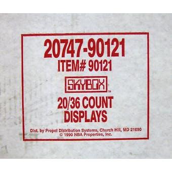 1990/91 Skybox Series 1 Basketball Wax 20-Box Case