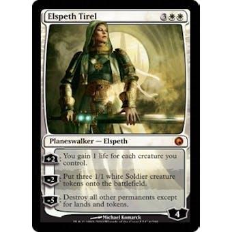 Magic the Gathering Scars of Mirrodin Single Elspeth Tirel - SLIGHT PLAY (SP)