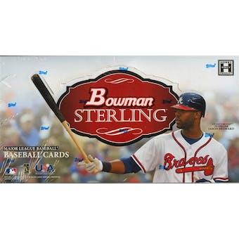 2010 Bowman Sterling Baseball Hobby Box