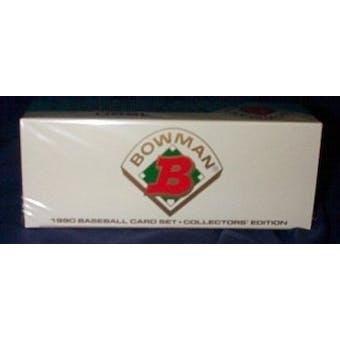 1990 Bowman Tiffany Baseball Factory Set (Reed Buy)