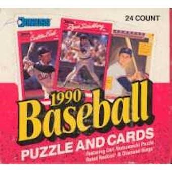 1990 Donruss Baseball Cello Box