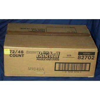 1990 Donruss Baseball Rack 72 Pack Case