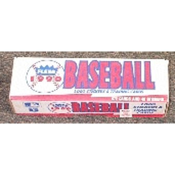 1990 Fleer Baseball Factory Set (White)