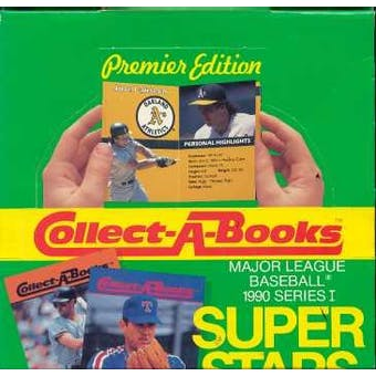 1990 Swell Collect A Book Baseball Wax Box