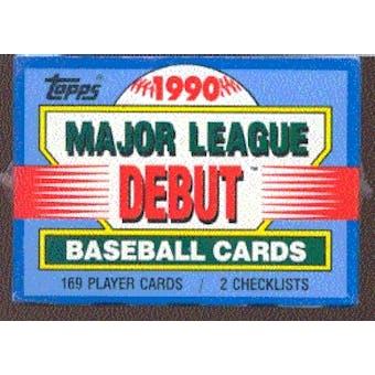 1990 Topps Debut Baseball Factory Set