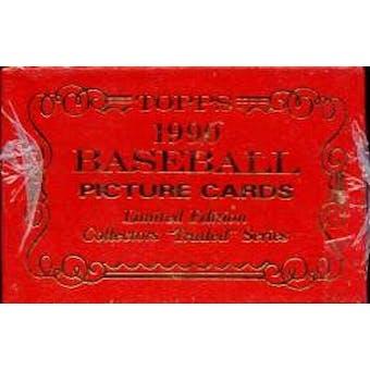 1990 Topps Tiffany Traded & Rookies Baseball Factory Set