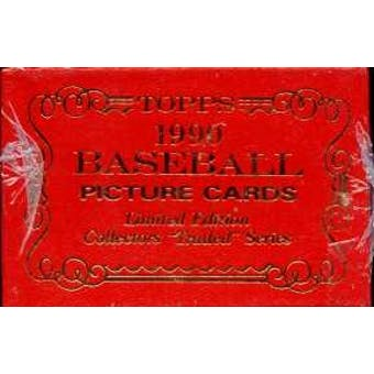 1990 Topps Tiffany Traded & Rookies Baseball Factory Set