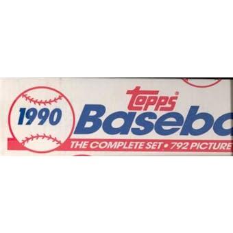 1990 Topps Baseball Factory Set (White Box)