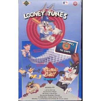 1990 Upper Deck Comic Ball Series 1 Baseball Wax Box (Reed Buy)