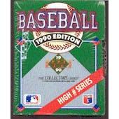 1990 Upper Deck Hi # Baseball Factory Set