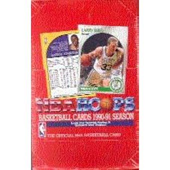 1990/91 Hoops Series 2 Basketball Wax Box