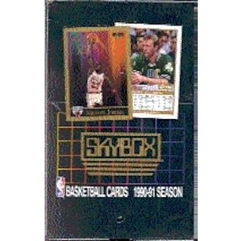 1990/91 Skybox Series 1 Basketball Wax Box