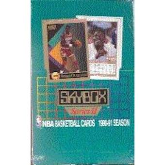 1990/91 Skybox Series 2 Basketball Wax Box (Reed Buy)