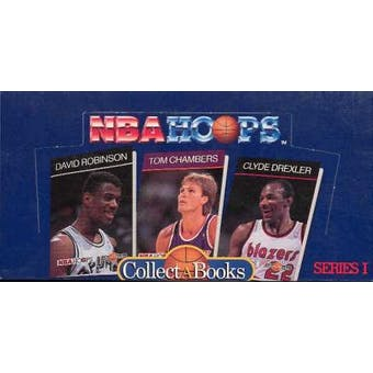 1990/91 Hoops Collect A Book Series 1 Basketball Wax Box