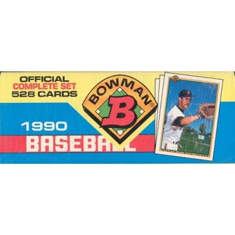 1990 Bowman Baseball Factory Set (Colorful) (Reed Buy)