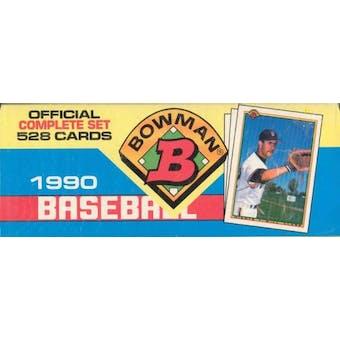 1990 Bowman Baseball Factory Set (Colorful)