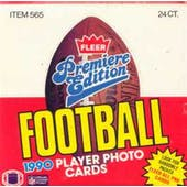 1990 Fleer Football Cello Box (Reed Buy)